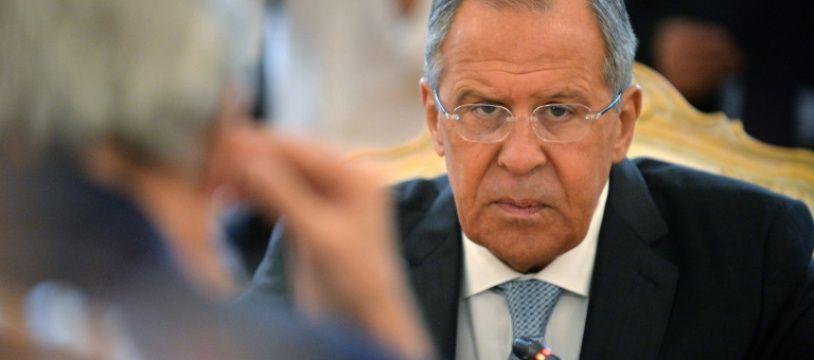 Le ministre russe des Affaires étrangères, Sergueï Lavrov, à Moscou, le 15 juillet 2016