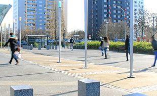 Le périmètre du GLTD s'établissait autour de la station Blosne.