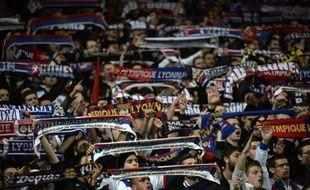 Les supporters de l'OL lors d'un précédent match de Ligue Europa face au Viktoria Plzen