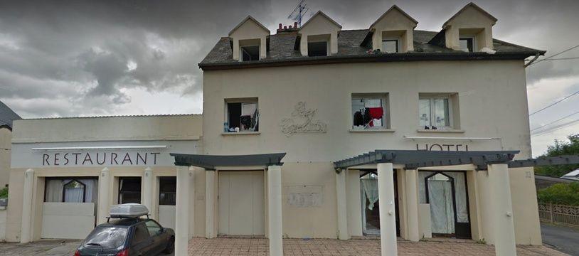 L'hôtel «Les Cyclades» à Caen, fermé et inutilisé depuis 2015.