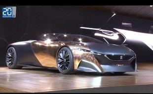 Peugeot Onyx au mondiale de l'automobile 2012