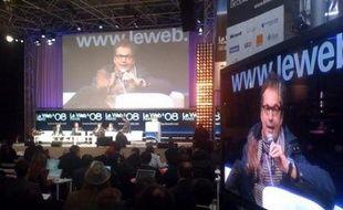 Un instantané du Web08 le 9 décembre 2008 à Paris.