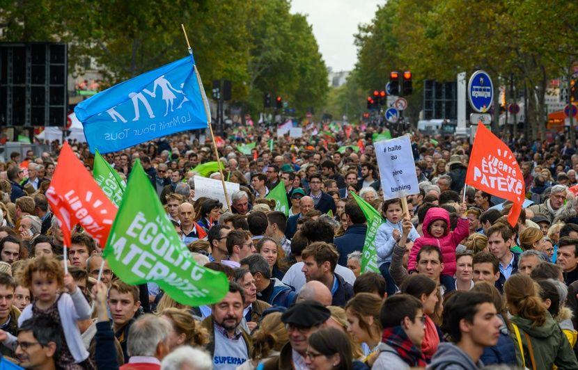 Loi bioéthique : Les opposants à la PMA défilent de nouveau à Paris dimanche