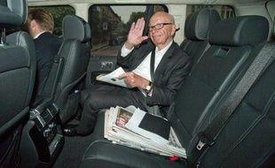 Le magnat de la presse Rupert Murdoch à Londres le 26 juin 2014