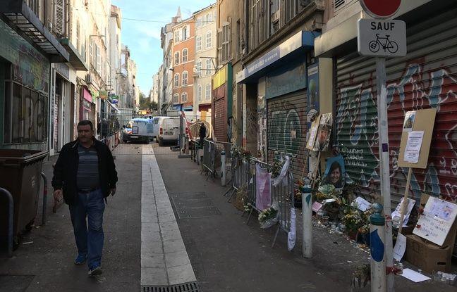 La partie droite et gauche de la rue d'Aubagne, qui peuvent être réintégrées, mais qui le sont déjà.