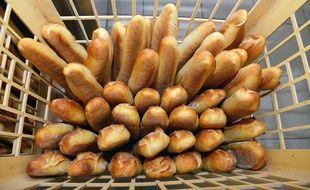 Dans une boulangerie (illustration)