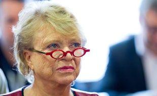 Eva Joly le 2 février 2012 lors d'une visite auprès des élus EELV de Haute-Garonne.