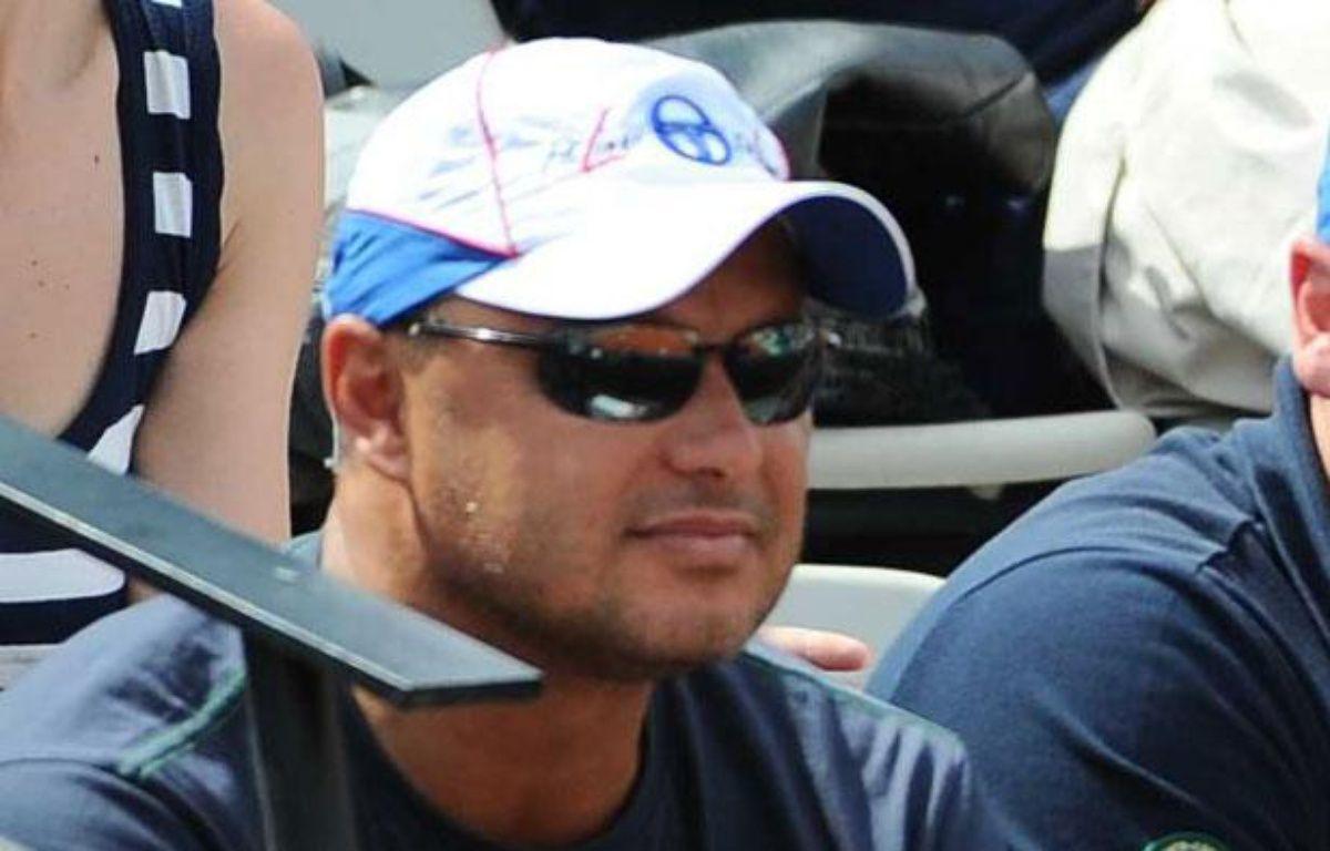 L'entraîneur de Novak Djokovic, Marian Vajda, à Roland-Garros, le 30 mai 2012. – A.Reau/Sipa