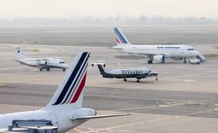 Marignane le 8 janvier 2013 - L' aéroport Marseille Provence