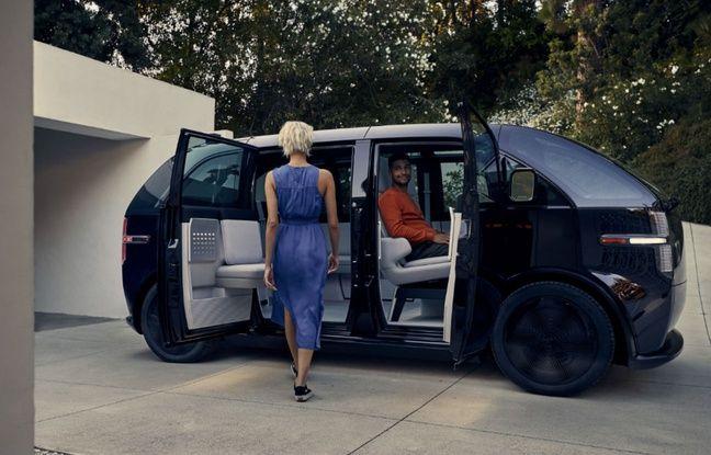 Présentée au CES de Las Vegas 2020, la voiture Canoo sera commercialisée uniquement sur abonnement.