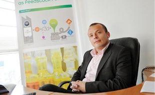 Anthony Kerihuel, président de S3D, transforme en biocarburant les graisses cuites.