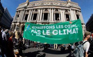 La marche pour le climat a rassemblé 14.500 manifestants à Paris