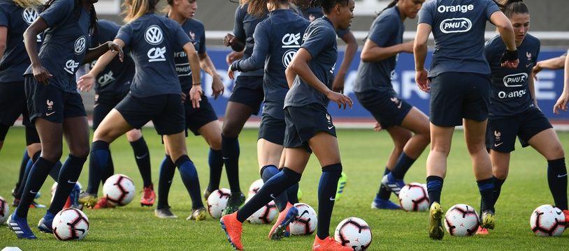 L'équipe de France féminine en pleine préparation pour le Mondial.