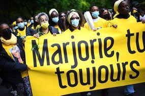 Une marche blanche organisée ce samedi 22 mai 2021 en hommage à Marjorie, à Ivry-sur-Seine.