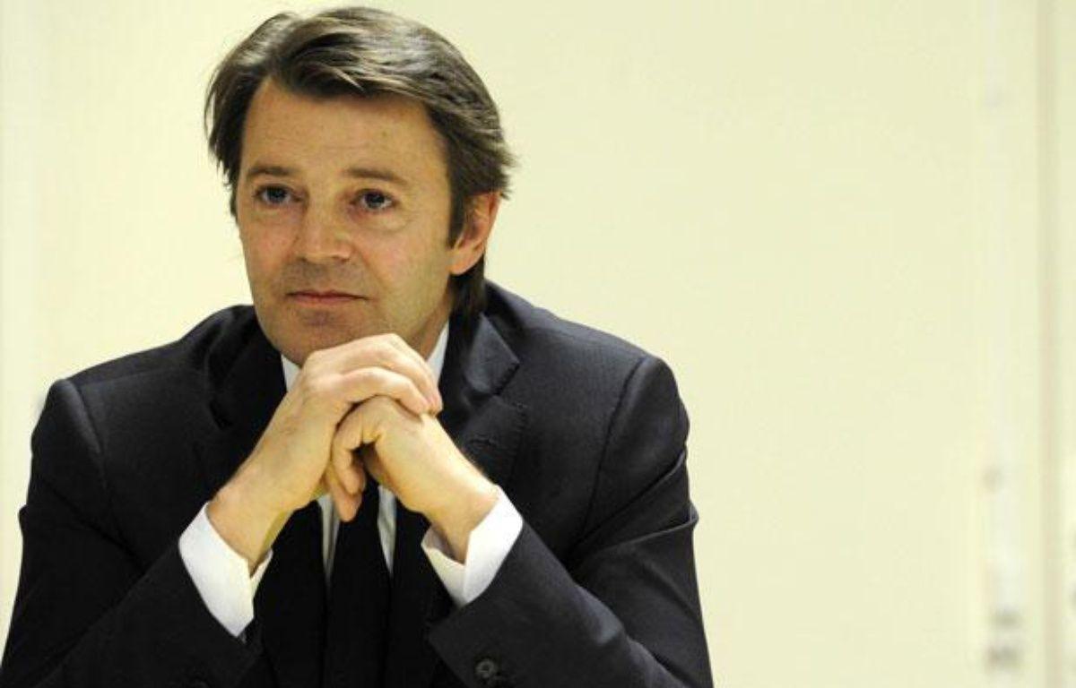 Le ministre de l'Economie, François Baroin, en mars 2011 à Paris, alors qu'il était ministre du Budget.  – TURPIN/JDD/SIPA
