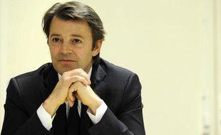 Le ministre de l'Economie, François Baroin, en mars 2011 à Paris, alors qu'il était ministre du Budget.