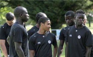 Moussa Sissoko, Alexandre N'Gadi, Dany Nounkeu et Oumar N'Diaye.