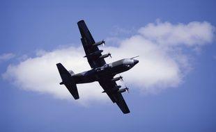 Un avion de transport C-130 (illustration).