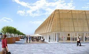 Les futures halles de Bacalan, face à la Cité du Vin de Bordeaux