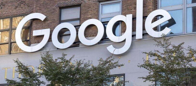 Les bureaux de Google à New York (illustration)