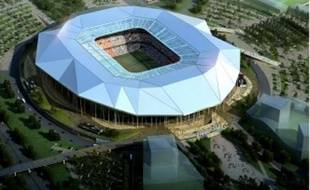 Malgré les retards, Gérard Collomb affirme que l'OL Land sera inauguré fin 2013.