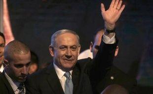 Le Premier ministre israélien Benjamin Netanyahu, le 17 mars 2015 à Tel Aviv