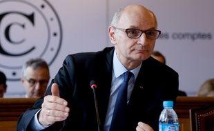 Didier Migaud, le président de la Cour des comptes, le 8 février 2018 à Paris.