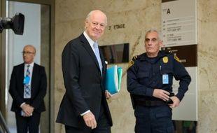 L'envoyé de l'ONU pour la Syrie Staffan de Mistura,  le 3 mars 2016 à Genève