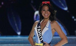 Miss Tahiti, Mehiata Riaria, première dauphine de Miss France 2014.