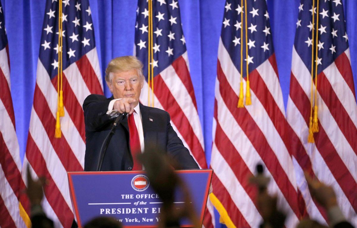 Ce vendredi, Donald Trump deviendra officiellement le 45e président des Etats-Unis – CHINE NOUVELLE/SIPA