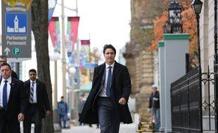 Justin Trudeau à Ottawa, le 23 octobre 2019.