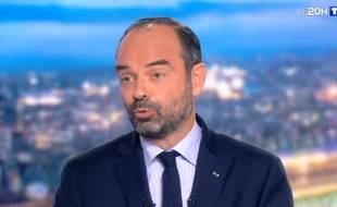 Edouard Philippe s'exprime au JT de TF1