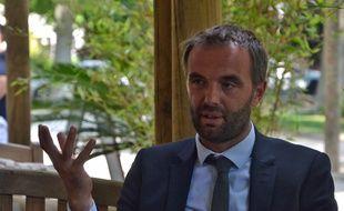 Michaël Delafosse (PS) maire de Montpellier.