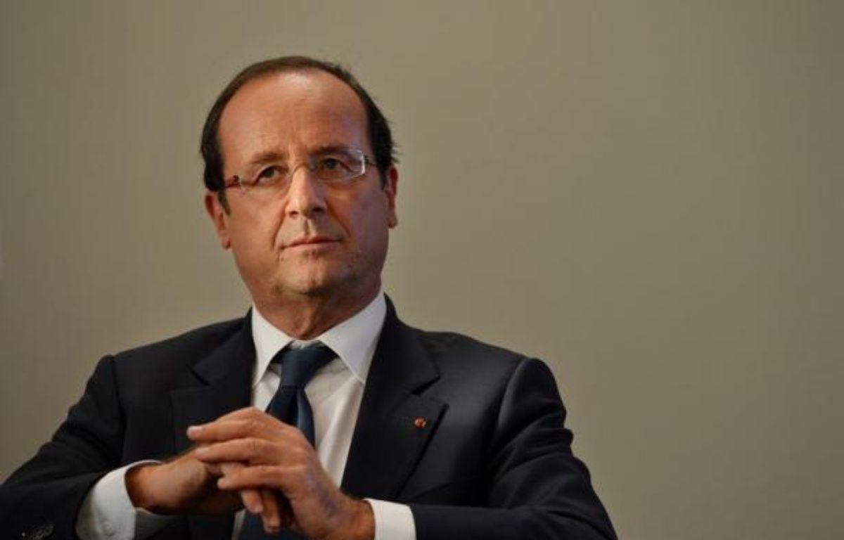 Les Français attendent de l'intervention télévisée de François Hollande programmée dimanche soir qu'il s'exprime prioritairement sur la lutte contre le chômage et la hausse des prix (alimentation, carburants etc), selon un sondage CSA pour Direct Matin. – Ben Stansall afp.com
