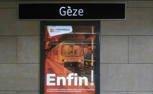 A Marseille, la ligne 2 du métro s'arrête désormais à Gèze