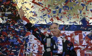 Le démocrate Doug Jones a remporté la sénatoriale de l'Alabama, le 12 décembre 2017.