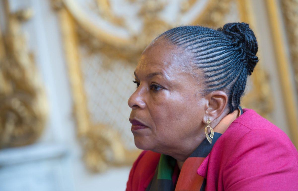 Christiane Taubira, à Paris, le 27 octobre 2014. – WITT/SIPA