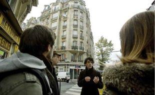 Nicolas,étudiant en urbanisme, proposait hier une visite dans le 15e arrondissement.