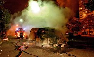 Clichy-sous-Bois, le 29 octobre 2005, deux jours après la mort de Zyed et Bouna dans un transformateur EDF.