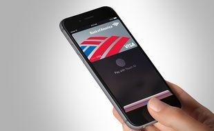 Le système Apple Pay, sur l'iPhone 6.