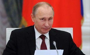 Vladimir Poutine a gracié des opposants lundi 23décembre 2013.