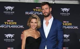 L'actrice Elsa Pataky et son mari, l'acteur Chris Hemsworth