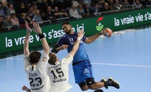 Melvyn Richardson a encore une fois survolé les débats en quarts de finale de la Coupe de France de handball devant Paris.