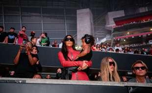Kim Kardashian et sa famille à Atlanta le 22 juillet 2021