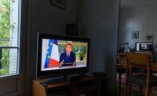 L'allocution télévisée d'Emmanuel Macron, le 14 juin 2020.