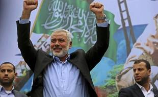 Ismaïl Haniyeh, ici le 12 décembre 2014.