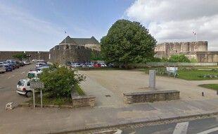 L'accident s'est produit près du musée de la Marine à Brest.