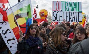 Les syndicats avaient déjà manifesté le 3 mai dernier contre le projet de loi Travail.