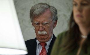 John Bolton était conseiller à la Sécurité nationale de Donald Trump jusqu'au 10 septembre 2019.