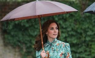 La duchesse de Cambridge, Catherine Middleton, à Kensington Palace